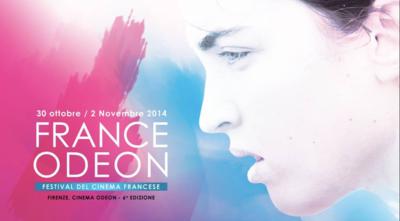 France Odéon, Festival de cinéma français - Florence - 2014