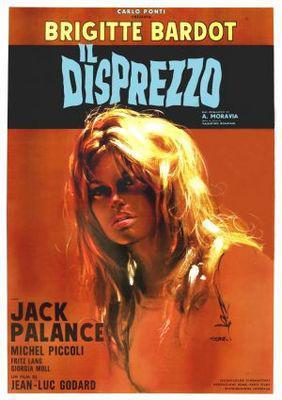 El desprecio - Poster Italie