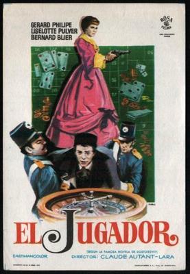 Le Joueur - Poster Espagne