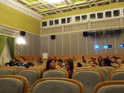 Master classes at VGIK in Moscow - Les étudiants du VGIK