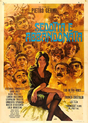 Seduced and Abandoned - Poster - Italy