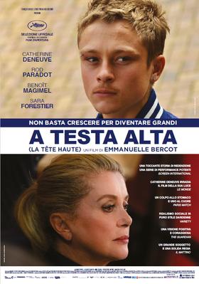 La Tête haute - Poster Italie
