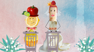 Dame Tartine aux fruits