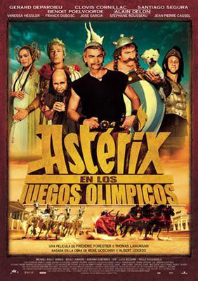 Astérix en los Juegos Olímpicos - Affiche - Espagne