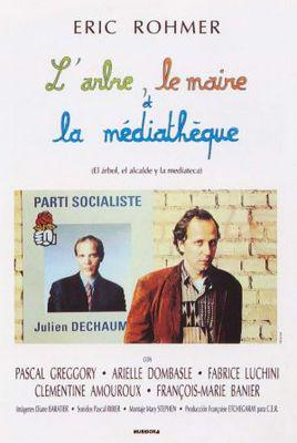 The Tree, the Mayor and the Mediatheque - Poster France
