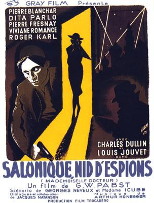 Mademoiselle Docteur (Salonique nid d'espions)