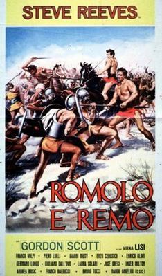 Rómulo y Remo - Poster - Italie