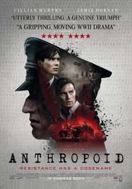 Anthropoid - Poster - Royaume-Uni