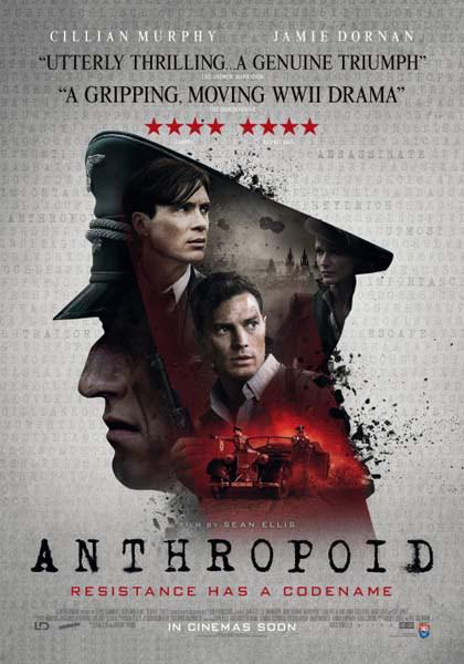 Anthropoid - Poster - Royaume-Uni