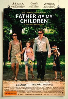 Père de mes enfants - Poster - Australia