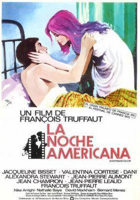 映画に愛をこめて アメリカの夜 - Poster Espagne