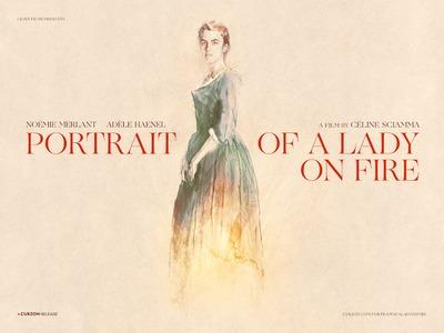 Retrato de una mujer en llamas - England