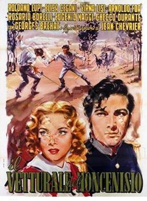 Le Voiturier du Mont Cenis - Poster Italie