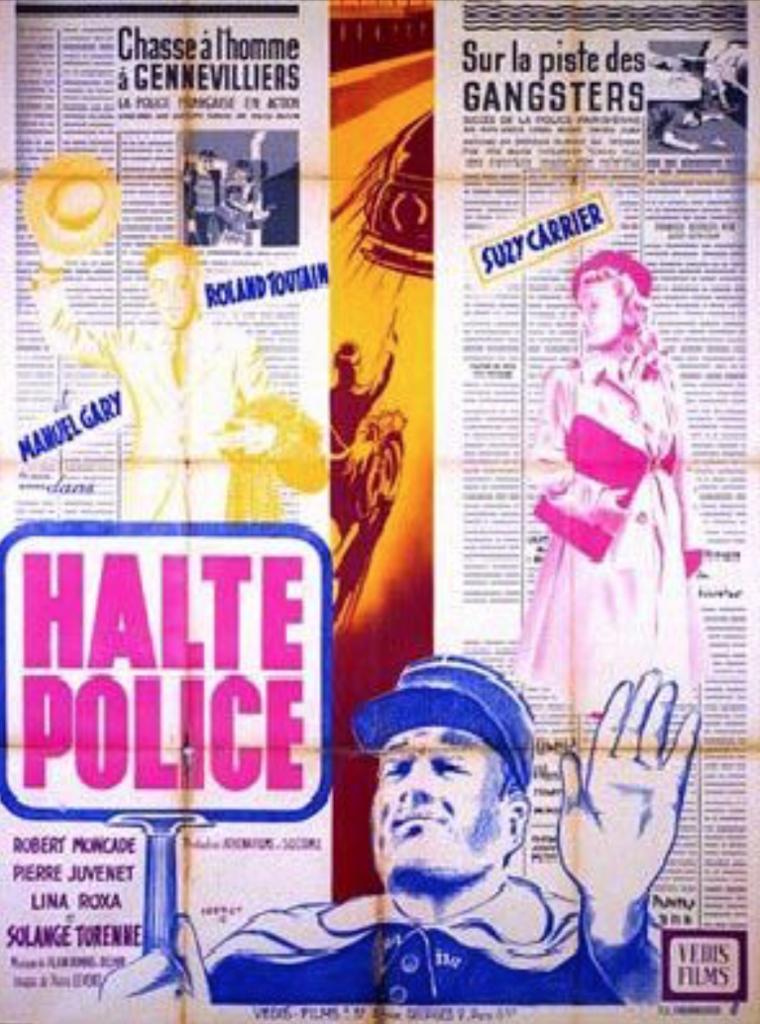 Halte... police !