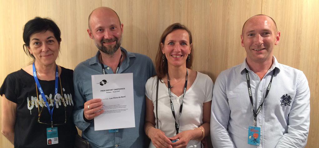 La productora Les Films du Nord gana la 3.ª edición del Premio Export de UniFrance