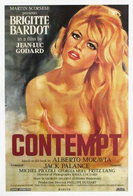 Contempt - Poster Etats-Unis