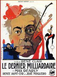 El último millonario - Poster France