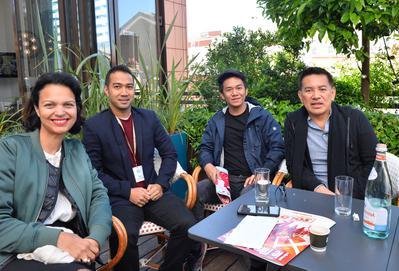 2018 Cannes Film Festival Portfolio - Une visite du cinéaste philippin Brillante Mendoza - © Veeren/BestImage/UniFrance