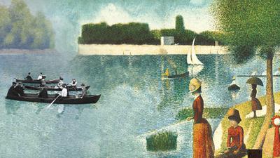 Une baignade à Asnières, Georges Seurat (1884)