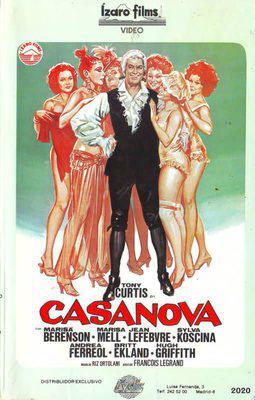 Casanova & Co. - Poster Espagne