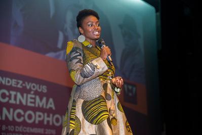 Balance de los Primeros Encuentros del Cine de habla francesa en Abiyán - Aïssa Maïga - © GK Studios