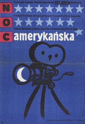 映画に愛をこめて アメリカの夜 - Poster Pologne