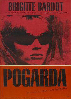 El desprecio - Poster Pologne