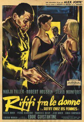 Du rififi chez les femmes - Poster Italie