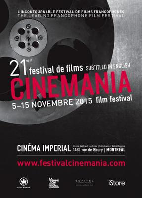 Festival de films francophones CINEMANIA - 2015
