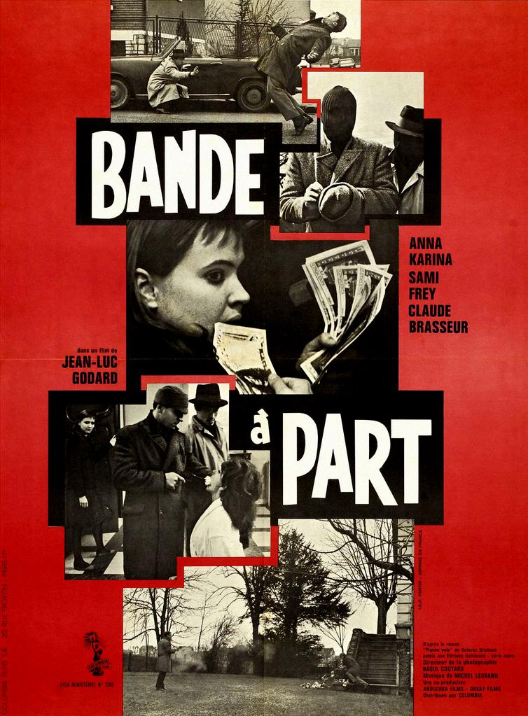 Band of Outsiders - Poster France