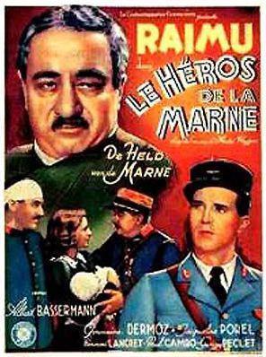 Les Héros de la Marne - Poster Belgique