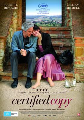 Certified Copy - Affiche Australie