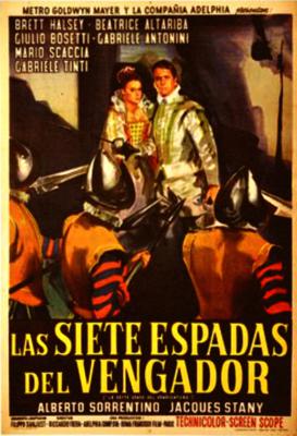 Las siete espadas del vengador - Poster - Spain