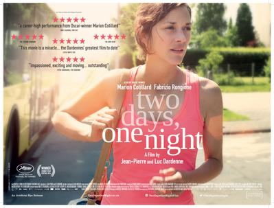 Two Days, One Night - © Poster - United Kingdom