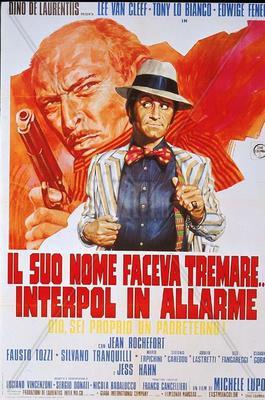 L'Homme aux nerfs d'acier - Poster Italie
