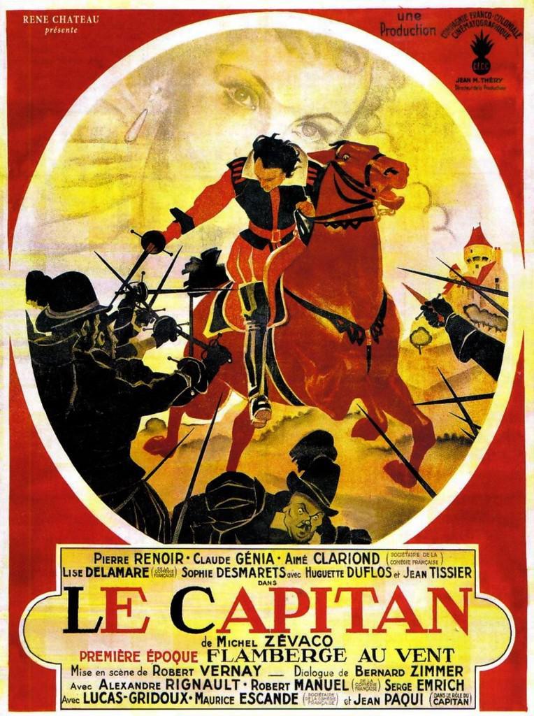 Le Capitan 1ere époque : Flamberge au vent