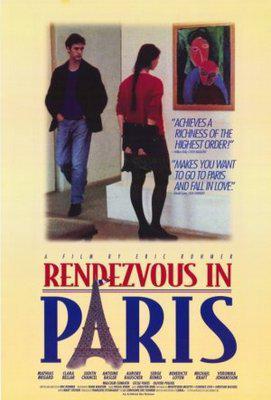 Tres romances en París - Poster Etats-Unis