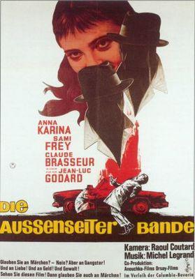 はなればなれに - Poster Allemagne