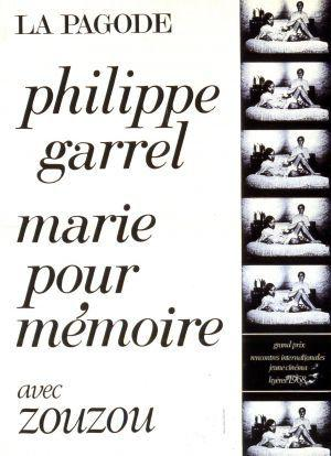 François Garrel - Poster France