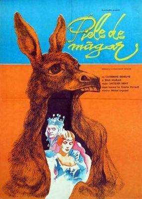 ロバと王女 - Affiche Roumanie