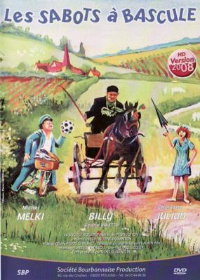 Les Sabots à bascule - Jaquette DVD France