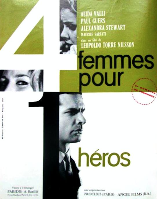 Quatre femmes pour un héros