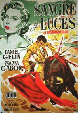 Sangre y luces - Poster - Espagne