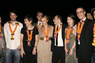 2nd French Film Meetings in India - Une partie de la délégation - © Unifrance.org