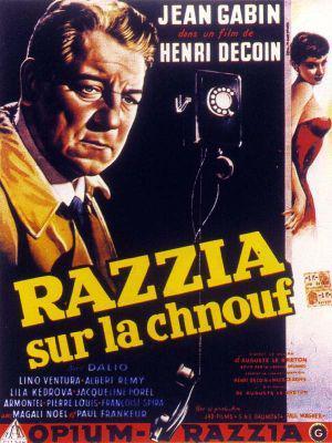 Razzia sur la chnouf - Poster Belgique