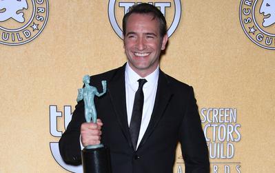 Hazanavicius y Dujardin, director y actor del año en USA. - Screen Actor Guild Award