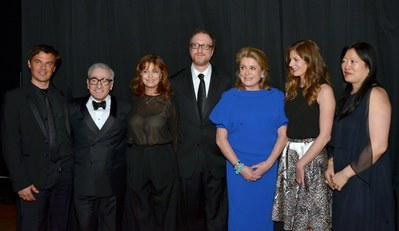 Catherine Deneuve recibio el Chaplin Award - F. Ozon, M. Scorsese, S. Sarandon, J. Gray - © Godlis for Filmlinc.com