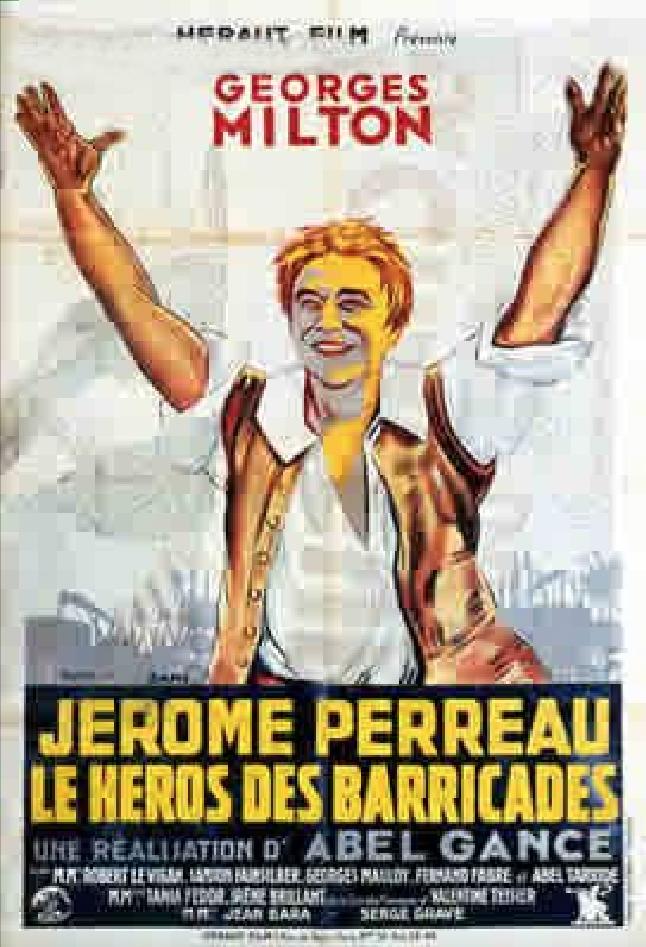 Jérôme Perreau, héros des barricades
