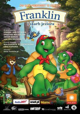 Franklin et le tresor du lac / 仮題:フランクリンと湖の宝物 - Poster Pologne