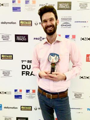 Review of the 1st Rendez-Vous with Francophone Cinema in Abidjan - Elie Chapuis, animateur sur - © UniFrance